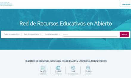 Procomún de Recursos Educativos Abiertos (INTEF)