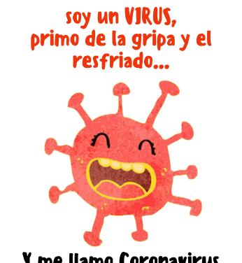Coronavirus: Hola, soy un virus primo de la gripe y el resfriado