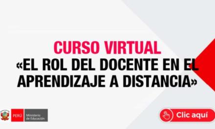"""Se extiende la preinscripción del curso virtual """"El rol del docente en la enseñanza aprendizaje a distancia"""""""