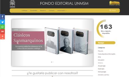 """Colección digital del Fondo Editorial de la UNMSM"""""""