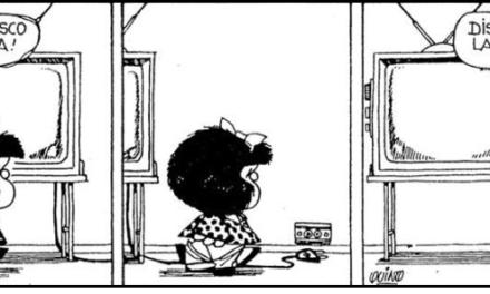 """Humor gráfico: Mafalda"""