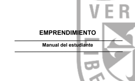 Emprendimiento: Manual del Estudiante
