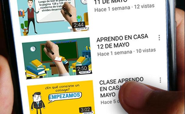 Del aula al Youtube: innovar para seguir enseñando
