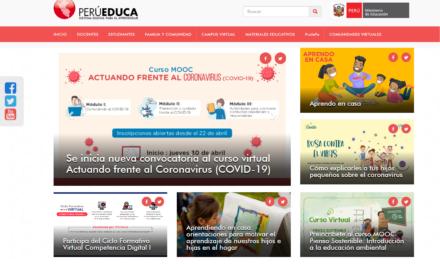 PERÚEDUCA Sistema Digital para el Aprendizaje