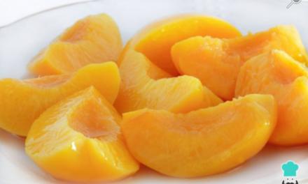 Con algunas frutas nutritivas preparamos conservas