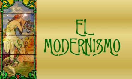 El modernismo y algunos conceptos importantes de la literatura