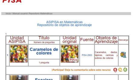 ASIPISA en Matemáticas.