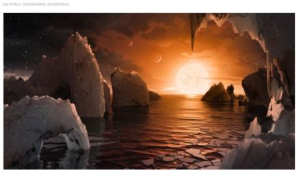 NASA descubrió un sistema planetario a 40 años luz de la Tierra