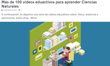 Más de 100 videos eduactivos para aprender Ciencias Naturales