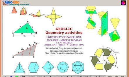 Geoclic. Actividades de geometría