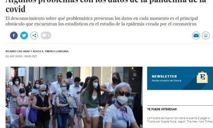 Algunos problemas con los datos de la pandemia de la covid