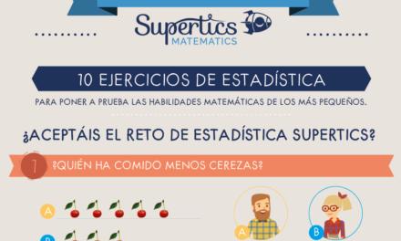 10 ejercicios de estadística para niños de primaria