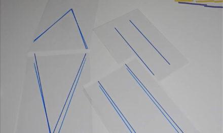 Recursos manipulativos matemáticas 13 paralelogramos transparencia