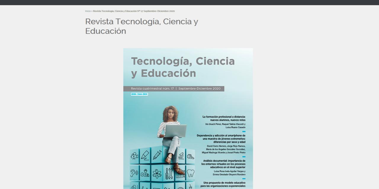 Revista Tecnología, Ciencia y Educación