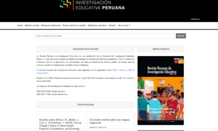 Revista de Investigación Educativa Peruana