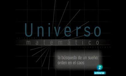 Universo matemático: La búsqueda de un sueño, orden en el caos