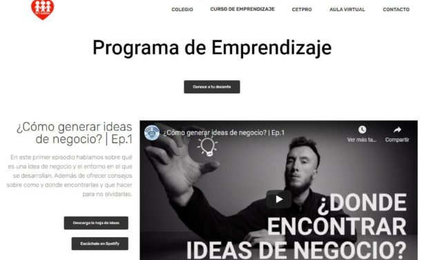 Programa de Emprendizaje