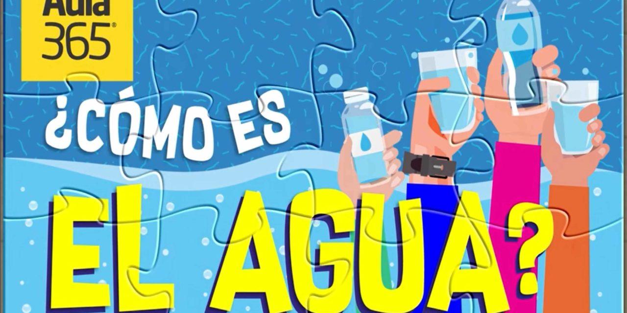 El agua y sus propiedades / #QuédateEnCasa y aprende #Conmigo