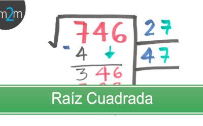 Aprendamos a sacar la raíz cuadrada de un número