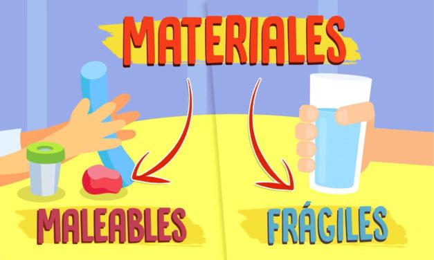 ¿Cuáles son las propiedades de los materiales?