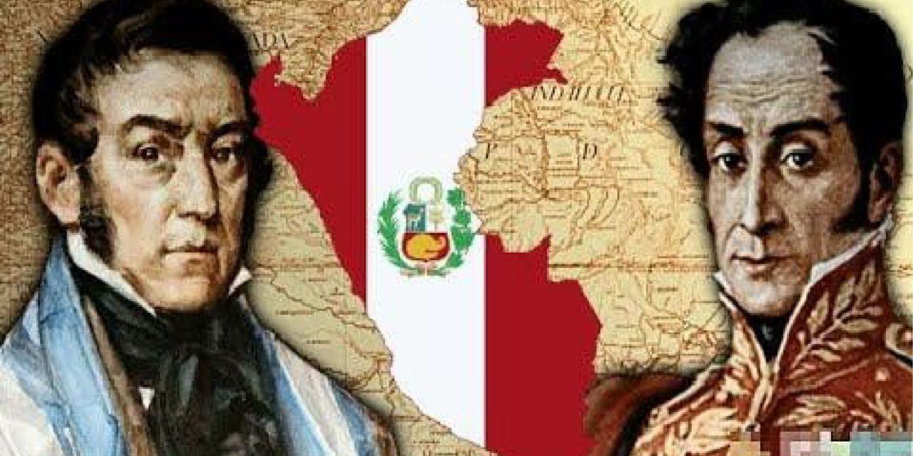 El Perú entre San Martín y Bolívar