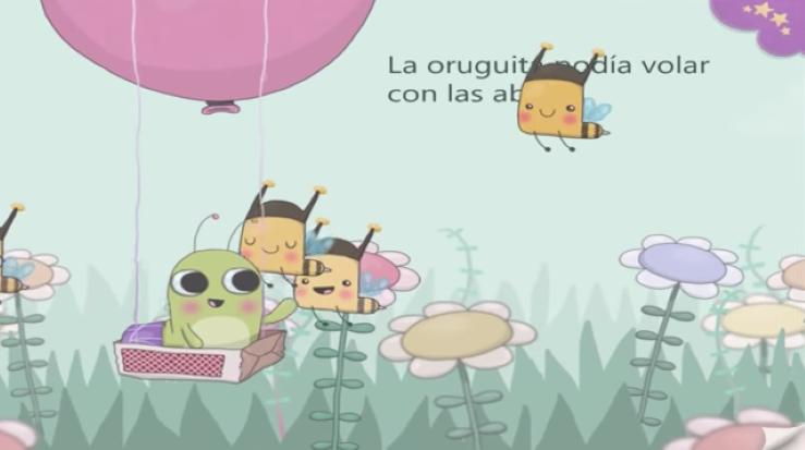 LA PEQUEÑA ORUGA | CUENTO PARA DORMIR | ESPAÑOL