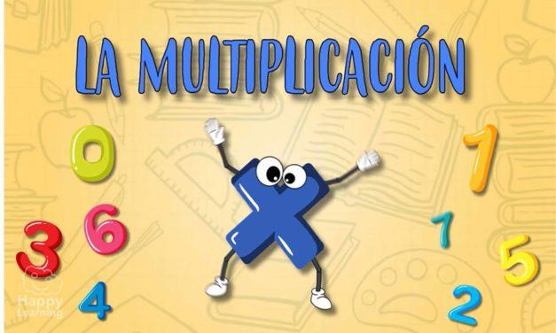 Aprendiendo a multiplicar. La Multiplicación   Vídeos Educativos para niños