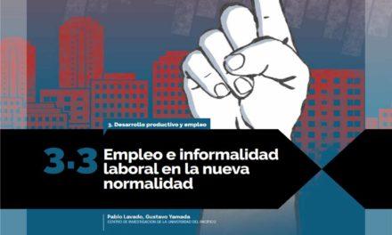 Empleo e informalidad laboral en la nueva normalidad