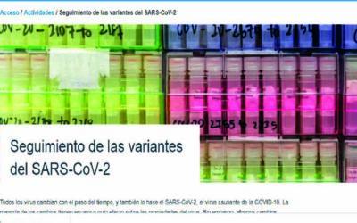 Seguimiento de las variantes del SARS-CoV-2
