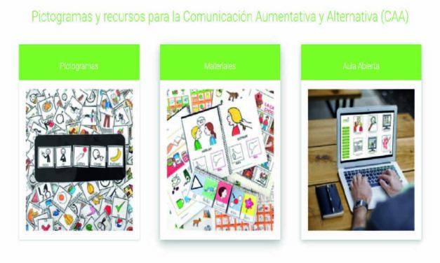 Pictogramas y recursos para la Comunicación Aumentativa y Alternativa (CAA)