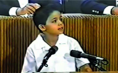 El mejor discurso de un niño a un presidente de México