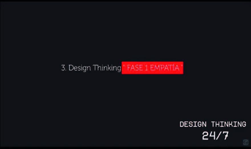 "Design Thinking ""FASE 1 – EMPATÍA"" Temporada 3 – Tutorial 3"