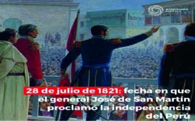 ¿Por qué recordamos el 28 de julio de 1821?