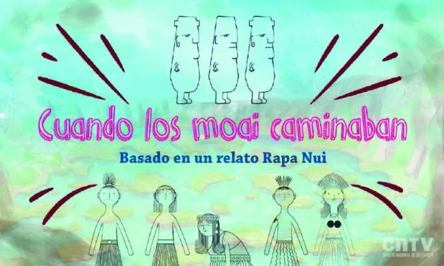 Cuando los moais caminaban: leyenda rapa nui|Cuéntame un cuento
