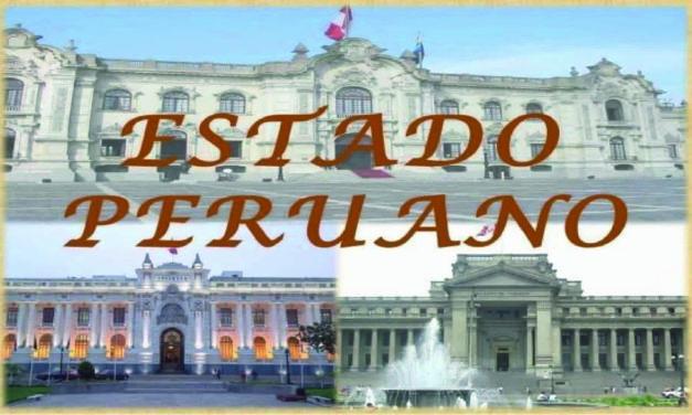 El Estado peruano y su funcionamiento